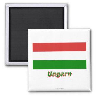 Ungarn Flagge MIT Namen
