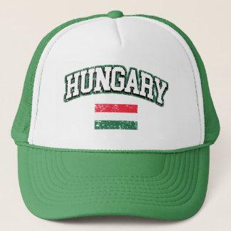 Ungarn-Flagge Truckerkappe