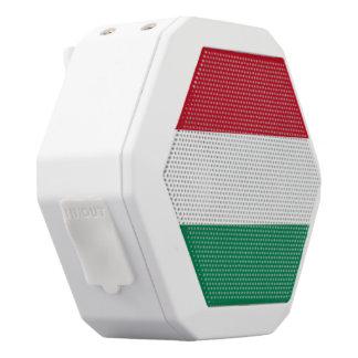 Ungarn-Flagge Weiße Bluetooth Lautsprecher