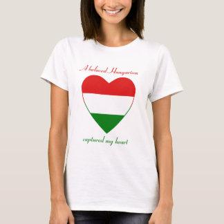 Ungarn-Flaggen-Schatz-T - Shirt