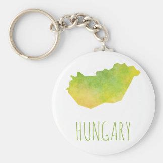 Ungarn-Karte Schlüsselanhänger