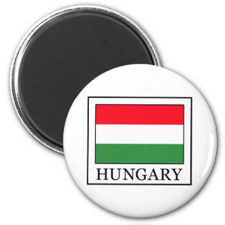 Ungarn Runder Magnet 5,7 Cm