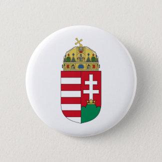 Ungarn-Wappen Runder Button 5,7 Cm