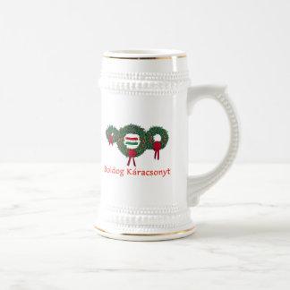 Ungarn-Weihnachten 2 Bierglas