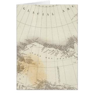 Ungefärbte Karte Nordamerikas