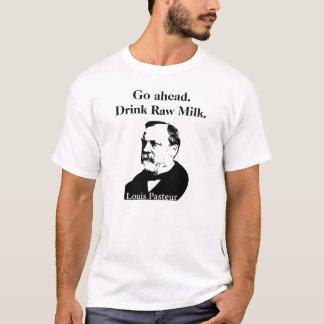 Ungekochte Milch-T - Shirt