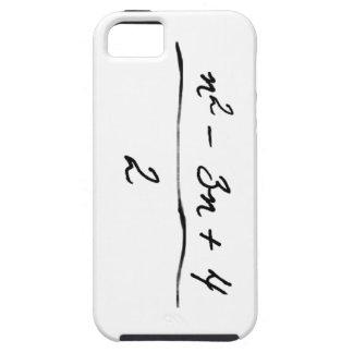 Ungelöste Algebra iPhone 5 Cover