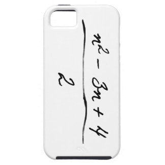 Ungelöste Algebra iPhone 5 Hülle
