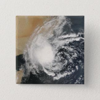 Ungenannter tropischer Wirbelsturm Quadratischer Button 5,1 Cm