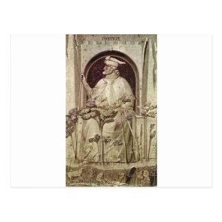 Ungerechtigkeit durch Giotto Postkarte