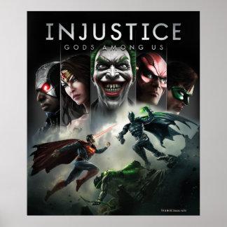 Ungerechtigkeit: Götter unter uns Poster