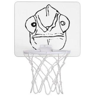 Ungeschicktes Chamäleon-MiniBasketballkorb Mini Basketball Netz