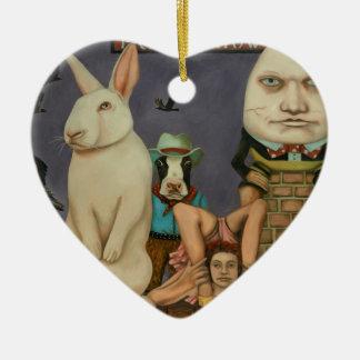 Ungewöhnliche Show Keramik Ornament