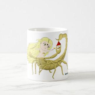 Ungewöhnliche Zentaure: Skorpion Kaffeetasse
