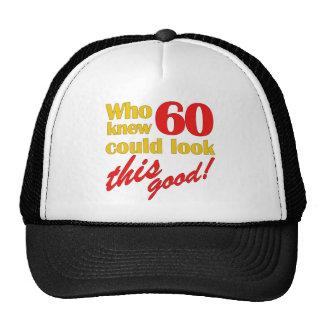 Unglaublich witzig 60. Geburtstags-Geschenke Mützen