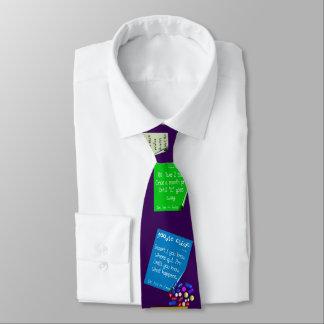 Unglaublich witzig Apotheker-Verordnungen lila Krawatte