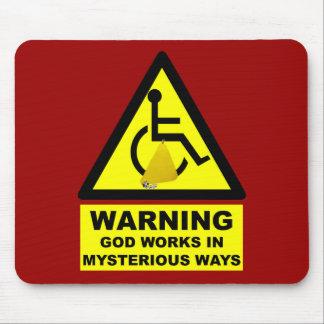 Unglaublich witzig Atheist Mauspads
