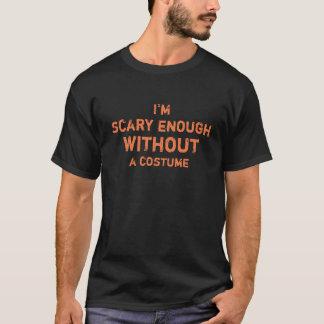 Unglaublich witzig beängstigendes genug ohne ein T-Shirt
