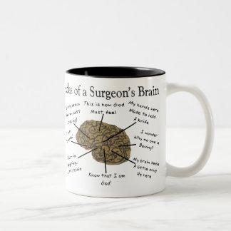 Unglaublich witzig Chirurg-Geschenke Zweifarbige Tasse