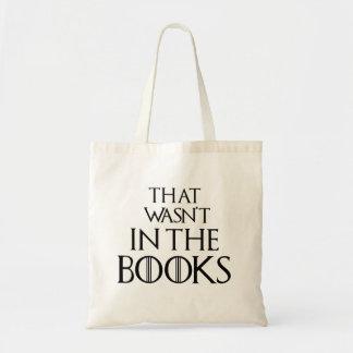 Unglaublich witzig, das nicht in den Büchern war, Tragetasche