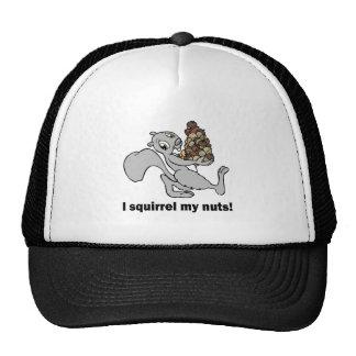 Unglaublich witzig Eichhörnchen Truckerkappe