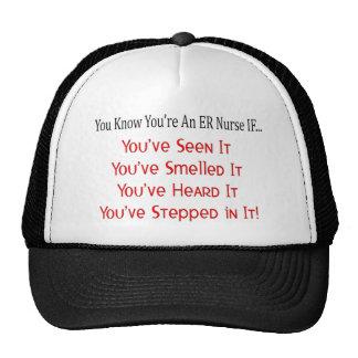 Unglaublich witzig ER-Krankenschwester-Geschenke Baseball Mütze