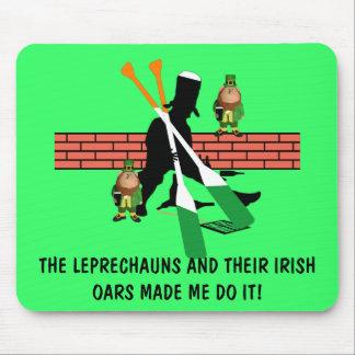 Unglaublich witzig Iren Mousepads