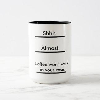 Unglaublich witzig Kaffee-Tasse Zweifarbige Tasse