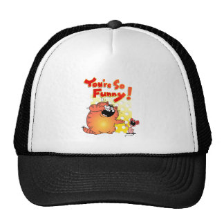 Unglaublich witzig Katze + Lustige Cartoon-Katze Kult Cap