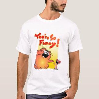 Unglaublich witzig Katze +Lustige Katze der Maus| T-Shirt