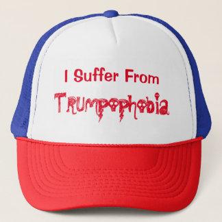 Unglaublich witzig leide ich unter TRUMPoPhobia Truckerkappe