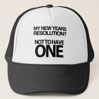 Unglaublich witzig neue Jahre Truckerkappe