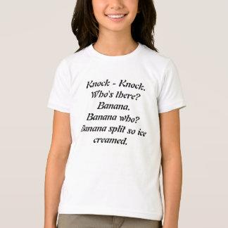 Unglaublich witzig Schlag-Schlag Witz-T-Shirt T-Shirt