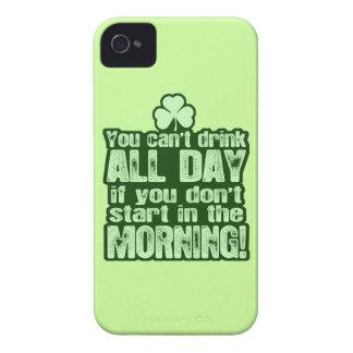 Unglaublich witzig Tagestrinken St. Patricks Case-Mate iPhone 4 Hülle