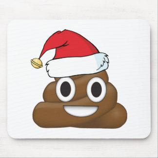 Unglaublich witzig Weihnachten kacken Emoji Mousepad