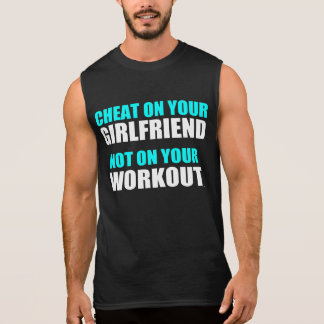 Unglaublich witzig Workout-Zitat Ärmelloses Shirt