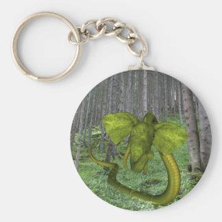 Unglaubliche Elefant-Pythonschlange Schlüsselanhänger