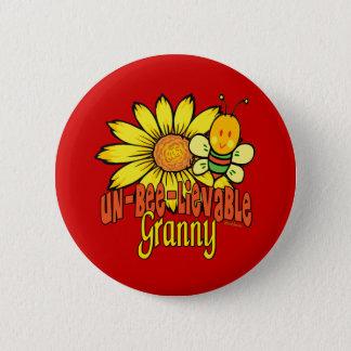 Unglaubliche Oma Runder Button 5,1 Cm
