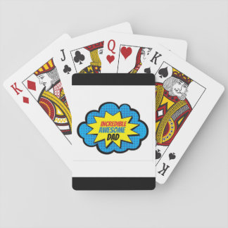 Unglaublicher fantastischer Vati-Spielkarten Spielkarten