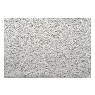 Ungleiche granulierte Zementbeschichtung der Tischset