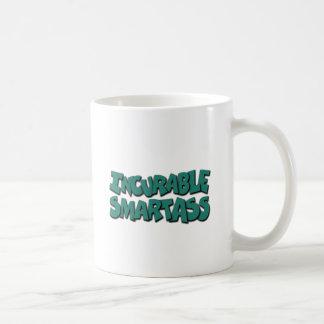 unheilbarer Klugscheißer Kaffeetasse