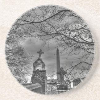 unheimlicher Friedhof Getränkeuntersetzer
