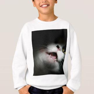 Unhöfliche Katzen-Gewohnheit und Redewendungen Sweatshirt