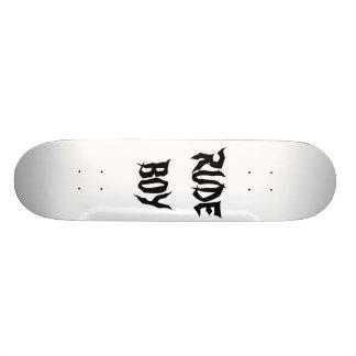 UNHÖFLICHER JUNGE Skatboard Individuelle Skatedecks