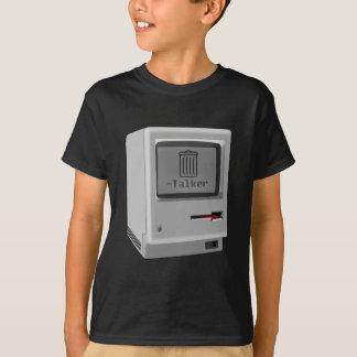 Unhöflicher Mac-Abfall-Sprecher T-Shirt