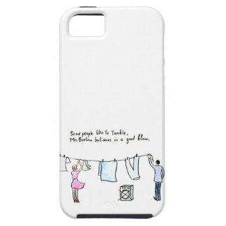 Unhöflicher Wäscherei-Witz-guter Schlag Tough iPhone 5 Hülle