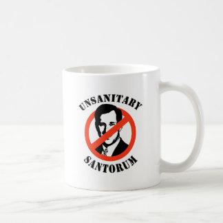 Unhygienisches Santorum Kaffee Tasse
