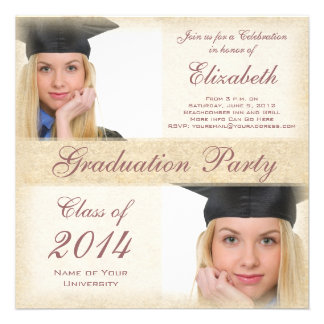 Uni-Abschluss-Party die Highschool des Mädchens