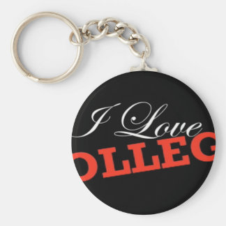 Uni der Liebe I Standard Runder Schlüsselanhänger