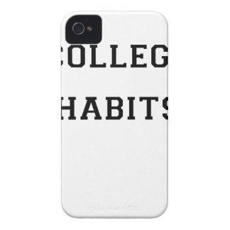 Uni-Gewohnheiten Case-Mate iPhone 4 Hülle